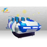 Buy cheap 80PCS Game Resources Spaceship VR Motorbike Simulator 6 Seats For Kids Over 5 product