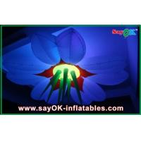 Buy cheap New Design Colorful 1.5m Hanging Lighting Decoration Inflatable Flowers from wholesalers