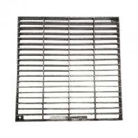 Buy cheap Press Locked Mild Steel bar Grating Hot Dip Galvanized ISO9001 Certification from wholesalers
