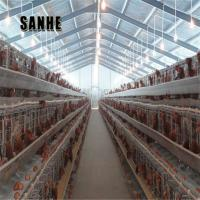 Buy cheap prefabricated steel structure chicken house from wholesalers