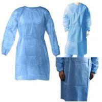 Buy cheap Latex Free Disposable Surgical Clothing Abrasion Resistant Completely Impervious Fluid product