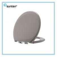 Soft Closing Feature Duroplast Grey Color Toilet Seat Covers Brands Of Xiamen