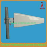 Buy cheap 800 MHz-2.7 GHz 11dBi Log Periodic Broadband Yagi Antenna LPDA Wifi Antenna from wholesalers