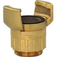 Buy cheap Brass Guillemin Coupling with Lock Ring and Male Bsp Parallel Thread from wholesalers