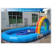 Buy cheap Large Inflatable Water Pool Water Pond For Backyard With Durable 0.9mm Pvc Tarpaulin product