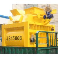 Buy cheap High Technology Twin Shaft JS1500 Stationary Concrete Mixer 1500L Concrete Mixer from wholesalers