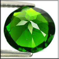 Buy cheap Round Russian Chrome Diopside Untreated For Peridot Bracelets Jewelry from wholesalers