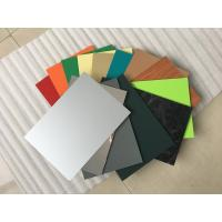Buy cheap High Intensity Polyester Aluminium Composite Panel , Aluminum Wall Panels from wholesalers