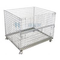 Buy cheap OEM Galvanized Storage Cold Roll Steel Container Store Shelves With Wheels from wholesalers
