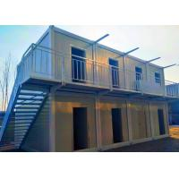 Buy cheap Ballroom / Bar Portable Shipping Container Homes Two Stories With External Stairs from wholesalers