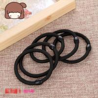 Buy cheap Black Color Women Elastic Hair Tie Band Rope Ring Ponytail Holder Nylon Hair Style Head Band Accessories from wholesalers