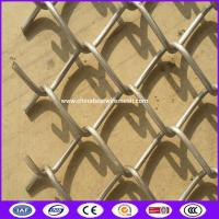 Buy cheap stainless steel 2 inch Diamond cyclone fence for wildlife barriers made in china from wholesalers