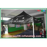 Buy cheap Black Outdoor Folding Tent  , Giant Waterproof Tent With Aluminum Frame from wholesalers