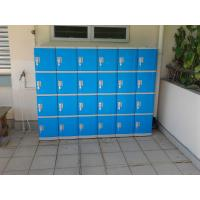 Buy cheap Color Door 5 Tier Lockers For Office , Coin Return Lockers For Supermarket from wholesalers