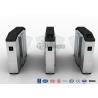 Buy cheap Stadiums Fingerprint Optical Turnstile Flap Barrier Gate Entrance Turnstiles from wholesalers