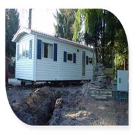 Buy cheap Livable Prefab Mobile Homes / Green Custom Mobile Homes For Family from wholesalers