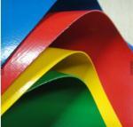 Buy cheap PVC Coated Heavy Duty Vinyl Tarp High Tear Strength With Heat Welded Eyelets from wholesalers
