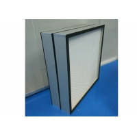 Buy cheap H12-H14 Mini Pleat HEPA Filter For Food And Beverage Industry Clean Room product