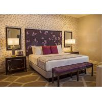Buy cheap Royal King Size Modern Queen Bedroom Sets  , High Standard Hotel Style Bedroom Furniture from wholesalers