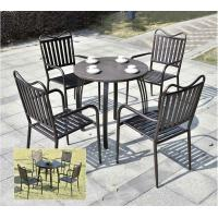 Buy cheap Leisure Picnic Patio Garden Die Cast Aluminum Outdoor Furniture Cast Aluminum Garden Furniture from wholesalers