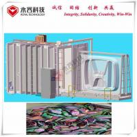 Buy cheap Glass Products Chrome Plating Machine , Smooth Surface PVD Coating Machine from wholesalers