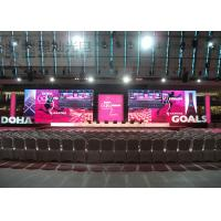 Buy cheap Led Screen Hire P6 SMD3528 Led Video Wall Rental 2000cd / m2 For Entertainment product