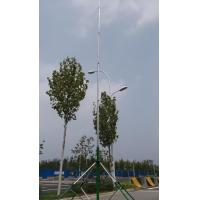 Buy cheap guyed aluminum telescopic mast antenna pole  6 meter 18 meter telescopic antenna tower with trolley base from wholesalers