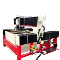 Buy cheap 1300*1300mm 420Mpa CNC laminated glass water jet cutting machine with CE from wholesalers