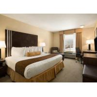 Buy cheap ODM Hotel Hotel Guest Room Furniture Sets With Wood Veneer Finsh from wholesalers