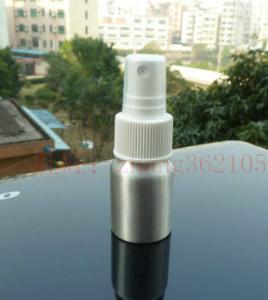 Buy cheap 20ml Silver/Red/Blue/Yellow Sprayer aluminum bottle, atomizing spray head aluminium bottle product