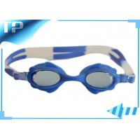 Buy cheap Blue Junior Optical Comfortable Girls Swimming Goggles For Swimming from wholesalers