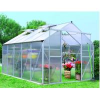 Buy cheap DIY Small Hobby Greenhouses For Hydroponics Tomato / Plant , Green / Brown / Silver White from wholesalers