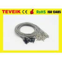 Buy cheap 1m Silver Chloride Plated Copper Electrode Cable For EEG Machine from wholesalers