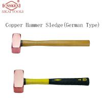 Buy cheap Non sparking  copper square hammer (German Type) safety manual tools from wholesalers