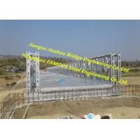 Buy cheap Road Steel Structure Bridge Portable Pre Engineered Q345B Durable Industrial from wholesalers