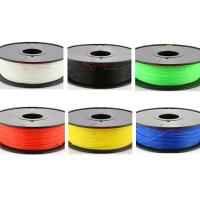 Buy cheap 1.75mm 3mm Nylon filament,3D printer fllament for Makerbot,muti color,RoHS certificated. product