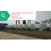 Buy cheap White Stainless Steel 60Cubic Meter Natural Gas Tank Horizontal LNG Tank from wholesalers