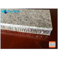 Buy cheap 20 Mm Thickness Light Weight Onyx Honeycomb Stone Panels Small Radiation Pollution from wholesalers