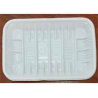 Buy cheap PP Foam Disposable Food Trays , Food Grade Plastic Trays For Food Packaging product