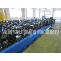 Buy cheap Gear Box Driving CZ Purlin Roll Forming Machine , 3.0mm Roll Former Machine from wholesalers