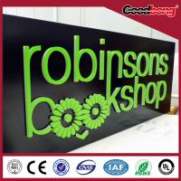 Buy cheap Acrylic  thin vacuum hotsale light high quality custom strong alphabet letter from wholesalers