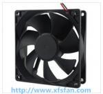 Buy cheap 92*92*25mm 12V/24V/48V DC Black Plastic Brushless Cooling Fan DC9225 from wholesalers
