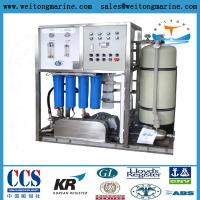 Buy cheap Reverse Osmosis Fresh Water Generator Sea Water Desalination System from wholesalers