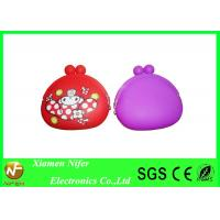 Buy cheap Women / Ladies Candy Color Silicone Coin Purse Wallet for Key or Coins Eco-friendly from wholesalers