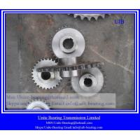 Buy cheap Sprocket 08B,chain sprocket ,China sprocket manufacturer 08B25T,gear 08B material C45 with harden tooth gear sprocket from wholesalers