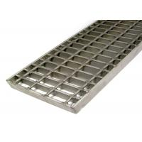 Buy cheap Safety Stainless Steel Mesh Grate , Light Weight Open Steel Floor GratingWith Clips from wholesalers