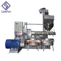 Buy cheap Sesame / Peanut Cold Press Oil Extractor , Screw Oil Processing Equipment from wholesalers