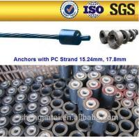 Anchorage wedges New and cheap anchorage for pre engineering steel structure building materials