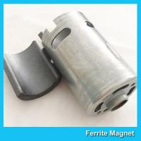 Buy cheap Permanent Ferrite Arc Magnet SrO / Bao / Fe2O3 Material For Motor Generator from wholesalers