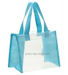 Buy cheap Lady handbag / EVA / PVC tote bag / beach bag made of EVA + Woven from wholesalers